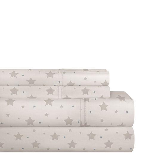 Pointehaven 200TC Percal Woven Cotton Sheet Set
