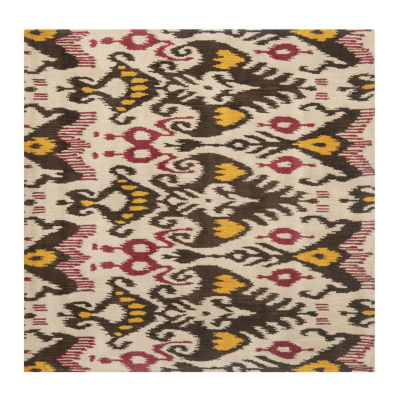 Safavieh Ikat Collection Keila Abstract Square Area Rug