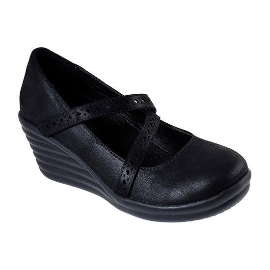 Skechers Womens Rumblers Wave  Filigree Mary Jane Shoes