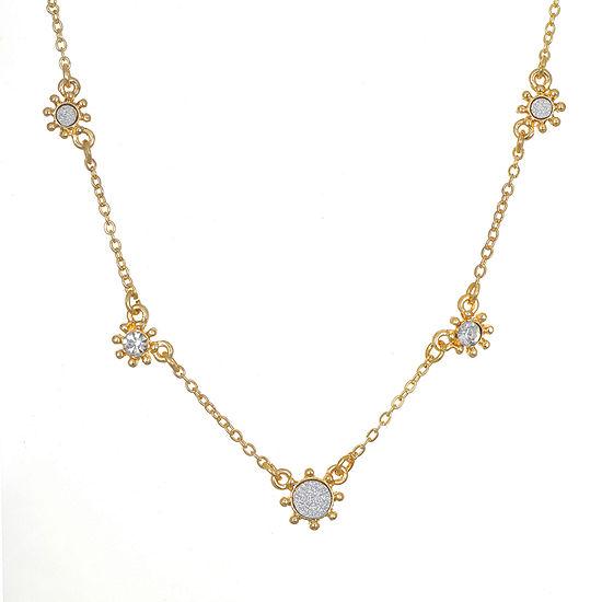 Bijoux Bar Link Round Chain Necklace