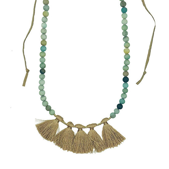 a.n.a 40 Inch Beaded Necklace