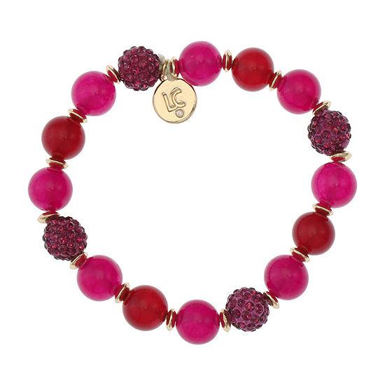 Liz Claiborne Purple Stretch Bracelet