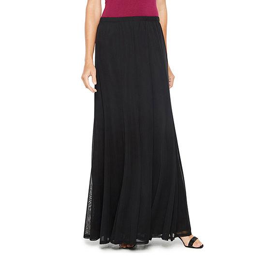 Onyx Womens Mid Rise Maxi Skirt