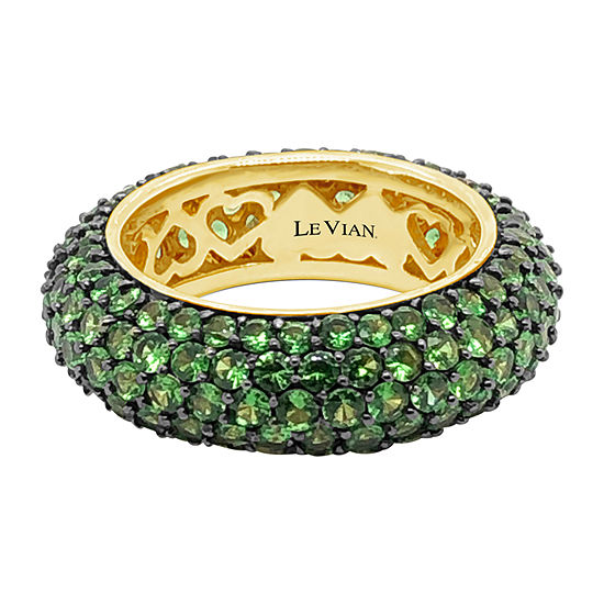 LIMITED QUANTITIES! Le Vian Grand Sample Sale™ Ring featuring Forest Green Tsavorite™ set in 14K Honey Gold™