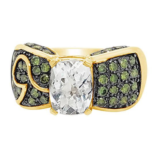 LIMITED QUANTITIES! Le Vian Grand Sample Sale™ Ring featuring Mint Julep  Quartz™ Green Diamonds set in 14K Honey Gold™