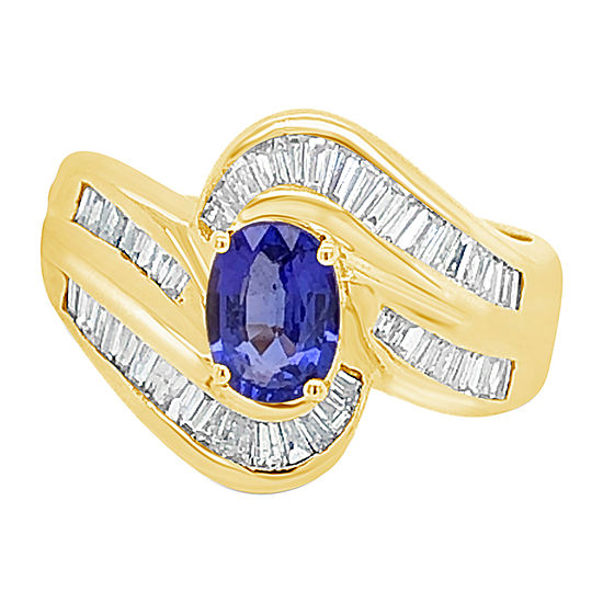 LIMITED QUANTITIES! Le Vian Grand Sample Sale™ Ring featuring Blueberry Tanzanite® set in 18K Honey Gold™