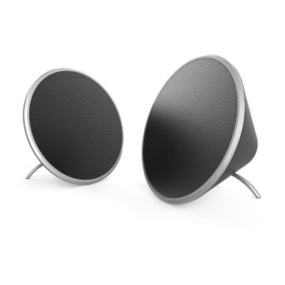 Brookstone Acoustics Desktop True Wireless Speakers