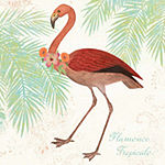 Metaverse Art Flamingo Tropicale II Framed Wall Art