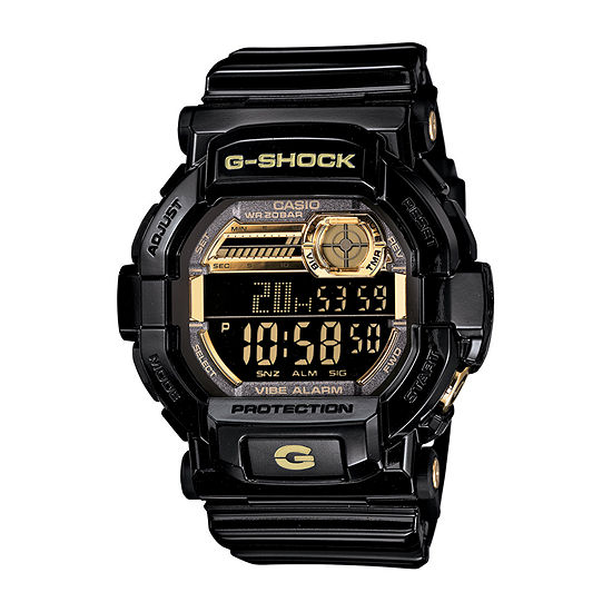 Casio G-Shock Mens Black Strap Watch with Gift Tin-Gd350br-1