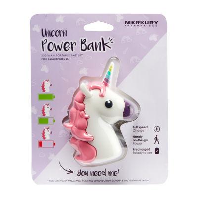 Merkury Innovations 2200 mAh Power Bank - Unicorn