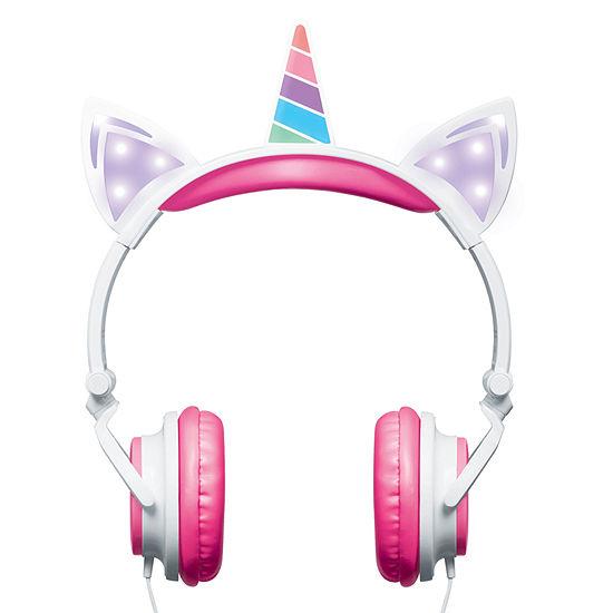 Merkury Innovations Stereo Headphones with Microphone - Unicorn