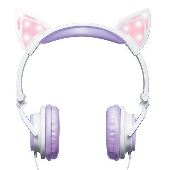Merkury Innovations Stereo Headphones with Microphone - Kitty