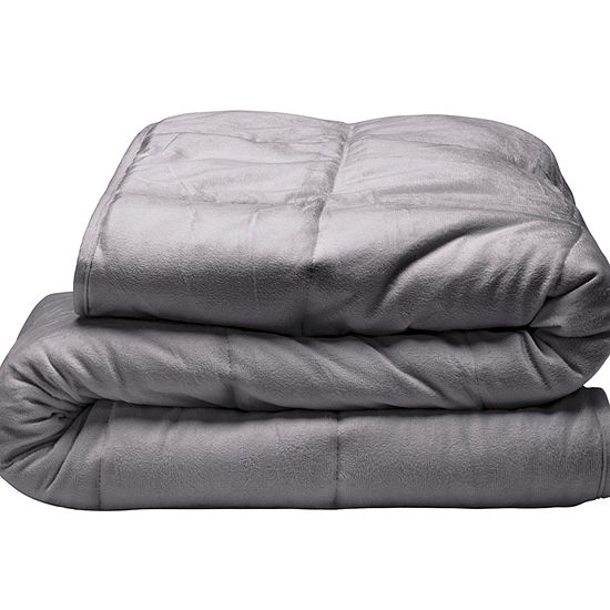 Tranquility 18lb Weighted Plush Blanket