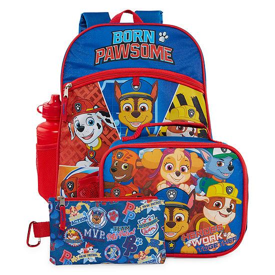 Paw Patrol 5 Piece Backpack Set