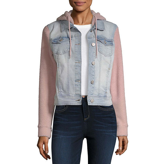 Wallflower Midweight Denim Jacket-Juniors
