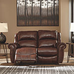 Signature Design by Ashley Bingen Roll-Arm Reclining Loveseat