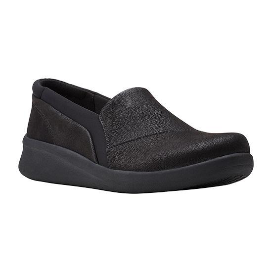 Clarks Womens Sillian 2.0 Eve Slip-On Shoe