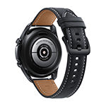 Samsung Galaxy 3 Black Leather Smart Watch-Sm-R840nzkaxar