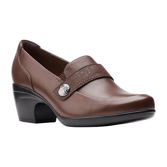 Clarks Womens Emily Andria Slip-On Shoe