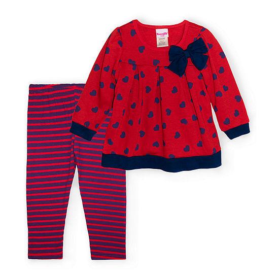 Nannette Baby Toddler Girls 2-pc. Legging Set