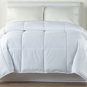 Jcpenney Home Level 1 Down Alternative Comforter Color White Jcpenney