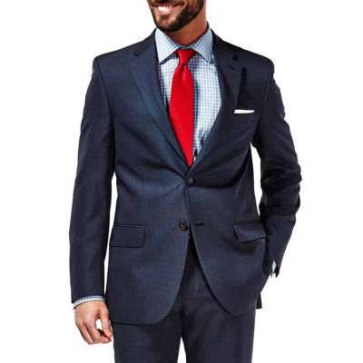Haggar Travel Performance Stria Slim Fit Suit Jacket