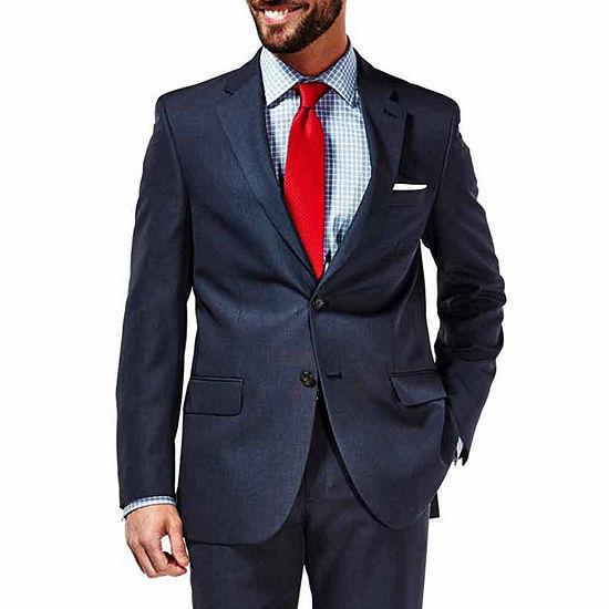Haggar Travel Performance Stria Slim Fit Suit Jacket