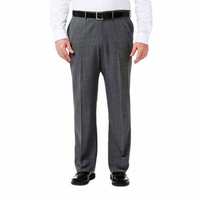 Haggar Travel Performance Stria Classic Fit Suit Pants - Big & Tall