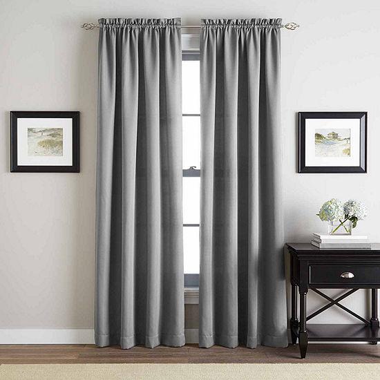 Addison Twill Rod Pocket Curtain Panel
