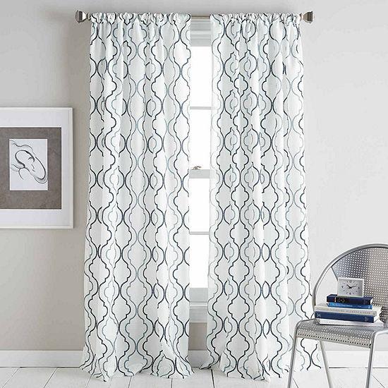 Coco Rod-Pocket Curtain Panel