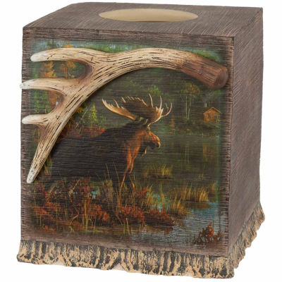 Back Bay Moose Tissue Box Cover
