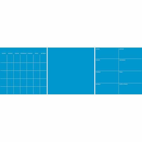 WallPops Neon Pacific Blue 6 Pc Combo Set