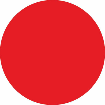 WallPops Red Hot Dry Erase Dot Decals- Set of 6