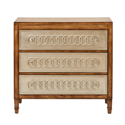 Madison Park Leuven Silver Ring Accent Chest