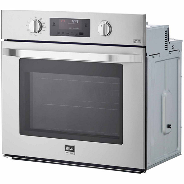 "LG 30"" Single Wall Oven with True Convection System"
