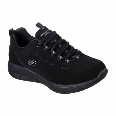 Skechers Synergy 2.0 Womens Walking Shoes Lace-up Wide Width