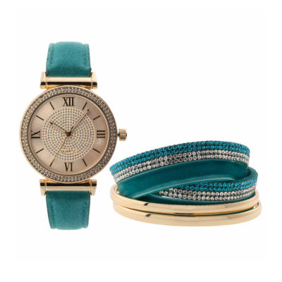 Mixit Womens Blue Strap Watch