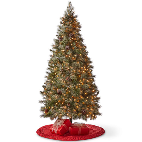 North Pole Trading Co. 7 1/2 Foot Inverness Pre-Lit Christmas Tree