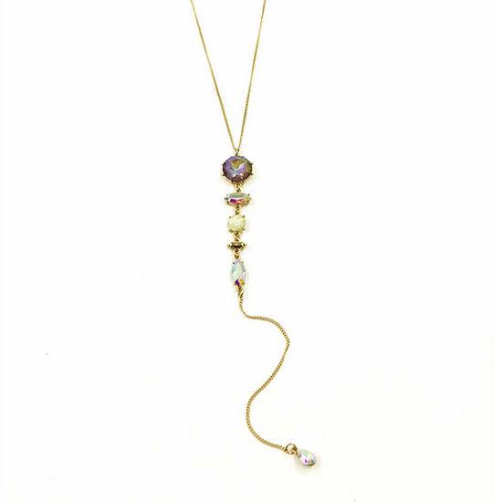 Bijoux Bar 19 Inch Curb Y Necklace