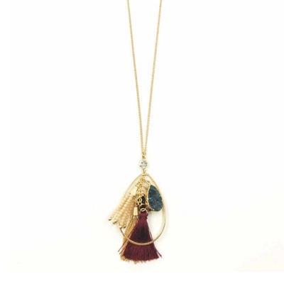 Bijoux Bar Womens Pendant Necklace