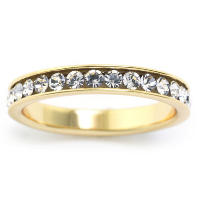 Sparkle Allure Womens 3MM Eternity Band