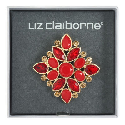 Liz Claiborne Red Pin