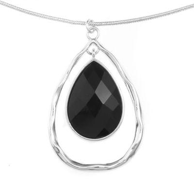Liz Claiborne Womens Silver Tone 2-pc. Jewelry Set