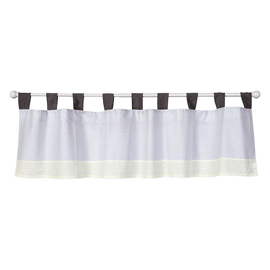 Trend Lab Farm Stack Tab-Top Valance
