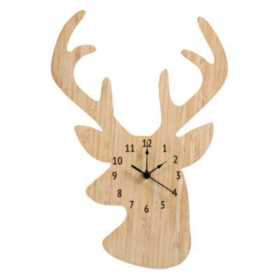 Trend Lab Stag Head Wall Clock