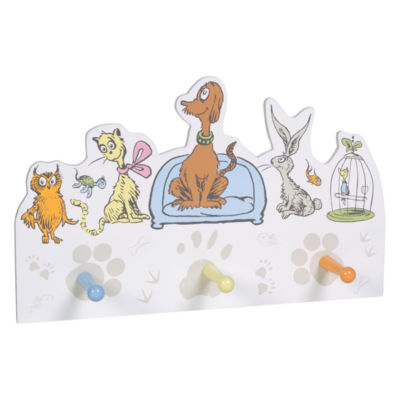Trend Lab Dr. Seuss What Pet Should I Get? Wall Shelf