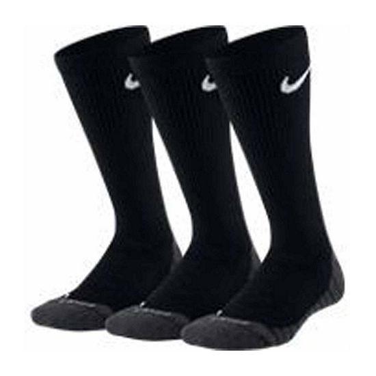 Nike Dri-fit Crew 3 Pack Socks - Boys