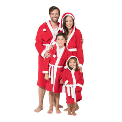 Family Pajama Santa Robe- Men's