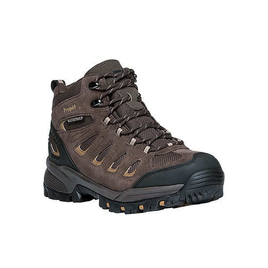 Propet Mens Ridgewalker Hiking Boots Flat Heel