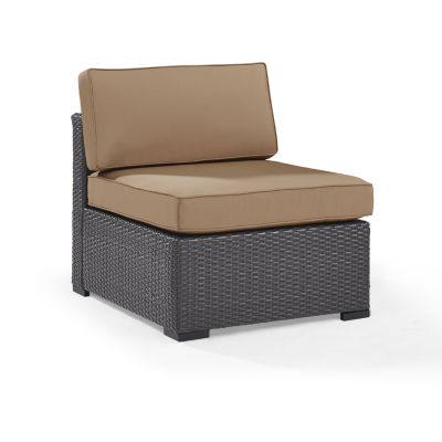 Biscayne Armless Conversation Chair With Cushions